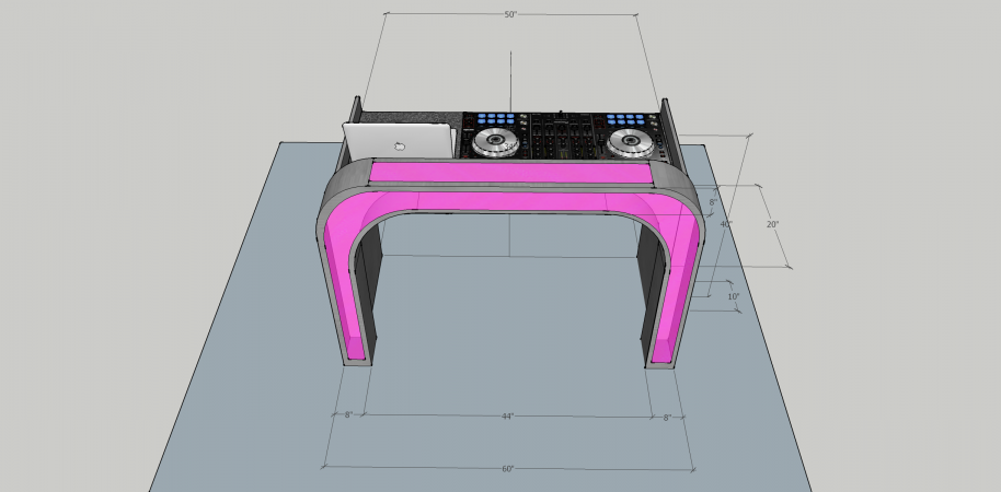 Illuminated DJ Table #207<br>2,436 x 1,200<br>Published 2 years ago